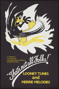 """Movie Posters:Animation, That's Not All Folks! (BFI, 1984). British Double Crown (20"""" X 30"""")Style C Animation.. ..."""