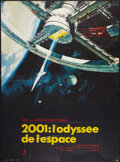 """Movie Posters:Science Fiction, 2001: A Space Odyssey (MGM, R-1970s). French Grande (45.5"""" X61.5""""). Science Fiction.. ..."""