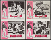 "Fanny Hill (Cinemation Industries, 1969). Lobby Card Set of 4 (11"" X 14""). Sexploitation. ... (Total: 4 Items)"