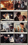 """Movie Posters:Adventure, Raiders of the Lost Ark (Paramount, 1981). Mini Lobby Card Set of 8(8"""" X 10""""). Adventure.. ... (Total: 8 Items)"""