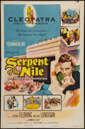 """Movie Posters:Drama, Serpent of the Nile (Columbia, 1953). One Sheet (27"""" X 41""""). Drama.. ..."""