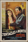 "Movie Posters:Adventure, In the Tentacles of the North (Rayart Pictures, 1926). One Sheet(27"" X 41""). Adventure.. ..."