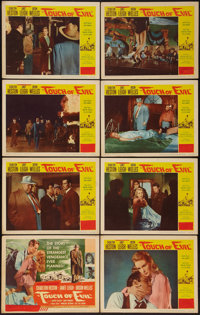 """Touch of Evil (Universal International, 1958). Lobby Card Set of 8 (11"""" X 14""""). Film Noir. ... (Total: 8 Items..."""