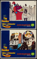 """Movie Posters:Animation, Yellow Submarine (United Artists, 1968). Lobby Cards (2) (11"""" X14""""). Animation.. ... (Total: 2 Items)"""