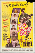 "Movie Posters:Rock and Roll, Go, Johnny, Go! (Hal Roach, 1959). One Sheet (27"" X 41""). Rock andRoll.. ..."