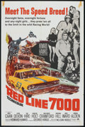 """Movie Posters:Sports, Red Line 7000 (Paramount, 1965). One Sheet (27"""" X 41""""). Sports.. ..."""