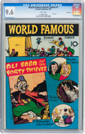 Golden Age (1938-1955):Miscellaneous, World Famous Stories Comics #1 Vancouver pedigree (Croyden, 1945) CGC NM+ 9.6 White pages....