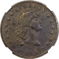 Early Dollars, 1794 $1 B-1, BB-1, R.4 -- Environmental Damage -- NGC. AU Details....