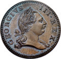 Colonials, 1773 PENNY Virginia 'Penny' PR66 Brown PCGS. CAC. Newman 1-A....