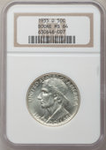 Commemorative Silver: , 1935-D 50C Boone MS64 NGC. NGC Census: (238/322). PCGS Population(413/410). Mintage: 5,005. Numismedia Wsl. Price for prob...