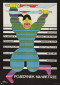 "Movie Posters:Action, Hunted Samurai (CWF, 1973). Polish One Sheet (22"" X 31.5"").Action.. ..."