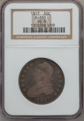 Bust Half Dollars, 1817 50C VG8 NGC. 0-111. NGC Census: (10/415). PCGS Population(6/573). Mintage: 1,215,567. Numismedia Wsl. Price for prob...