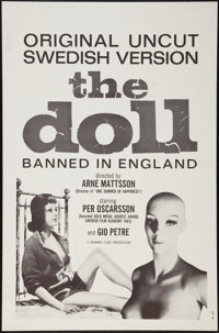"The Doll (Kanawha, 1964). One Sheet (27"" X 41""). Fantasy"