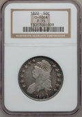 Bust Half Dollars, 1822 50C Fine 15 NGC. 0-106A. NGC Census: (8/560). PCGS Population(11/723). Mintage: 1,559,573. Numismedia Wsl. Price for...