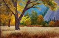 Fine Art - Painting, American:Contemporary   (1950 to present)  , RITA HOFFMAN SHULAK (American, 20th Century). Good MorningYosemite. Oil on canvas. 24 x 36 inches (61.0 x 91.4 cm).Sig...