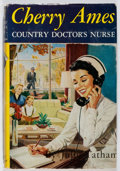 Books:Children's Books, Julie Tatham. Cherry Ames: Country Doctor's Nurse. Grosset& Dunlap, 1955. Later impression. Owner's name. Offsettin...