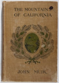 Books:Americana & American History, John Muir. The Mountains of California. Century, 1907. Lateredition. Hinges shaken. Owner names and stamps. Hinges ...