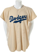 Baseball Collectibles:Uniforms, 1947-48 Gil Hodges Game Worn Brooklyn Dodgers Rookie Jersey....