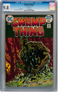 Bronze Age (1970-1979):Horror, Swamp Thing #9 (DC, 1974) CGC NM/MT 9.8 White pages....
