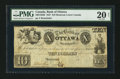Canadian Currency: , Montreal, LC- The Bank of Ottawa $10 18__ Remainder Ch. #560-14-02R . ...