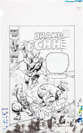 Original Comic Art:Covers, Marie Severin Not Brand Echh #3 Cover Recreation OriginalArt (undated)....