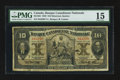Canadian Currency: , Montreal, PQ- Banque Canadienne Nationale $10 Feb. 1, 1929 Ch. #85-12-04. ...