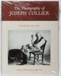 Books:Photography, Kathleen Collier, et al. The Photography of Joseph Collier. Pruett, 1983. First edition, first printing. Sealed in p...