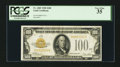 Small Size:Gold Certificates, Fr. 2405 $100 1928 Gold Certificate. PCGS Very Fine 35.. ...