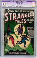Silver Age (1956-1969):Horror, Strange Tales #43 (Atlas, 1956) CGC Apparent NM 9.4 White pages....
