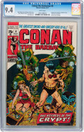 Bronze Age (1970-1979):Adventure, Conan the Barbarian #8 (Marvel, 1971) CGC NM 9.4 White pages....