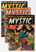 Golden Age (1938-1955):Horror, Mystic #5 and 7-13 Group (Atlas, 1951-52).... (Total: 8 ComicBooks)