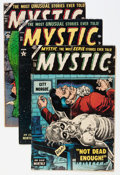 Golden Age (1938-1955):Horror, Mystic Group (Atlas, 1954-55).... (Total: 7 Comic Books)