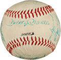 Autographs:Baseballs, 1961 New York Yankees Partial Team Signed Baseball....