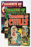 Golden Age (1938-1955):Horror, Chamber of Chills Group (Harvey, 1951-52).... (Total: 6 ComicBooks)