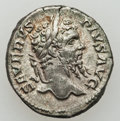 Ancients:Roman Imperial, Ancients: Septimius Severus (A.D. 193-211) Lot of 2 denarii....(Total: 2 coins)