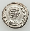 Ancients:Roman Imperial, Ancients: Julia Domna and Julia Mamaea. Lot of 2 AR Denarii...(Total: 2 coins)