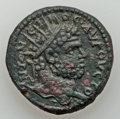 Ancients:Roman Provincial , Ancients: BITHYNIA. Nicaea. PAMPHYLIA. Sillyum. IONIA. Ephesus.Caracalla (AD 211-217). Lot of 3 Æ.... (Total: 3 coins)