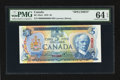 Canadian Currency: , BC-53aS $5 1979 Specimen. ...