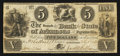 Obsoletes By State:Arkansas, Fayetteville, AR- Branch of the Bank of the State of Arkansas $5 Feb. 2, 1838 Rothert 186-1. ...