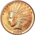 Indian Eagles, 1920-S $10 MS66 PCGS Secure....