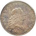 Early Half Dollars, 1795 50C 2 Leaves AU50 NGC. O-124, R.5....