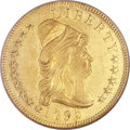 Early Eagles, 1795 $10 9 Leaves MS61 NGC. BD-3, High R.6....
