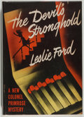 Books:Mystery & Detective Fiction, Leslie Ford. The Devil's Stronghold. Scribners, 1948. Firstedition, first printing. Offsetting and foxing. Spin...