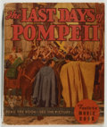 Books:Fiction, Merian C. Cooper [adapted from]. The Last Days of Pompeii. Whitman, 1935. Photoplay edition. Toning. Spine sligh...