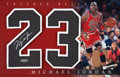 Basketball Collectibles:Others, 2000 Michael Jordan Signed UDA Display. ...