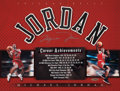 Basketball Collectibles:Others, Michael Jordan Signed UDA Career Achievements Display. ...