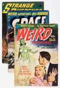 Golden Age (1938-1955):Horror, Comic Books - Assorted Golden Age Horror Comics Group (VariousPublishers, 1950-52) Condition: Average GD.... (Total: 6 ComicBooks)