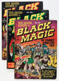 Golden Age (1938-1955):Horror, Black Magic #2-6 Group (Prize, 1950-51).... (Total: 5 Comic Books)
