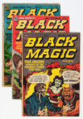 Golden Age (1938-1955):Horror, Black Magic Group (Prize, 1953-54).... (Total: 6 Comic Books)