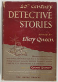 Books:Mystery & Detective Fiction, Ellery Queen [editor]. Twentieth Century Detective Stories.World, 1948. First edition, first printing. Toning and l...
